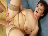 Hawt chick fist insertion a wicked aged slut